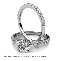 Enchanted Ring - Cincin Crystals Swarovski® by Her Jewellery