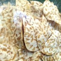 Keripik Tempe Crispy /Camilan Tradisional /Snack Kerupuk Oleh Khas