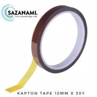 KAPTON TAPE 10MM ISOLASI TAHAN PANAS KAPTON TAPE HIGH TEMPERATURE TAPE