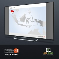 Template PowerPoint INDONESIA MAP | PresentationLoad
