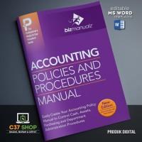 TEMPLATE SOP Accounting Policies and Procedures Manual | BizManualz