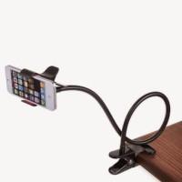 Lazypod Mount Bracket Penjepit Smartphone Phone Monopod Meja Youtube