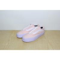 BEST SELLER Sepatu Vans Old Skool Soft Pink Premium Quality EBDE