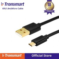 PREMIUM GOLD Cable Data/Kabel Charger Micro USB 1.8M Tronsmart