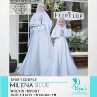 Syari Couple Milena Baju Muslim Anak Jilbab Anak Mukena Gamis Anak