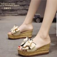 SX - Sandal Wedges Jh123 Cream - Beige