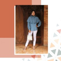 Busana muslim baju muslim tania blouse