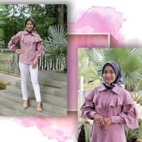 Busana muslim baju muslim naura blouse