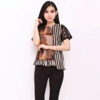 Baju Batik Kantoran Kekinian / Promo Baju Batik Wanita Kantoran