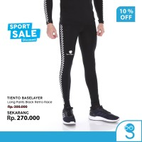 Tiento Celana Legging Pria Leging Sport Long Pants Men Retro Race