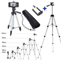 Tripod 1M + Holder U Universal / Buat Camdig,,Dslr,Handycam