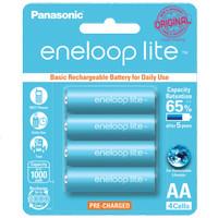 Rechargeable Batteries - Panasonic Eneloop - Eneloop Lite AA (4Pieces)