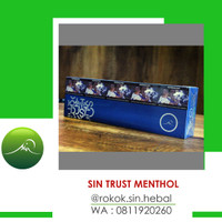 SIN HERBAL TRUST MENTHOL FILTER PER SLOP