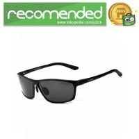 Veithdia Kacamata Designer UV Polarized Sunglasses - 6520 - Hitam