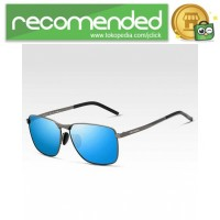Veithdia Kacamata Vintage UV Polarized Sunglasses - 2462 - Biru