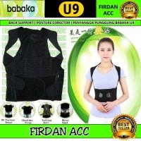 back support / korset penyangga punggung / posture corrector babaka U9