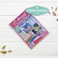 Kertas Mainan Anak E-print Paper Craft Level 1