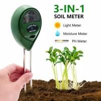 3 in 1 Soil Masteoer Meter PH Meter Light Meter