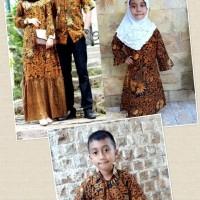 Couple Gamis Zara Batik Keluarga Baju Couple Batik Set Anak