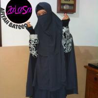 Set Gamis Afiyah Bateeq Batik by ZaLaSa
