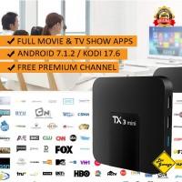 Android TV Box Tanix TX3 Mini RAM 2GB ROM 16GB Full Apps KODI Addons