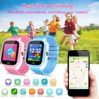 Jam Tangan Anak Digital GPS GSM Bisa Telepon Pria Wanita Karakter Lucu