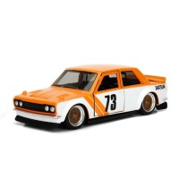 Promo Jada Metals JDM 1/32 - 1973 Datsun 510 (Angka 73) orange