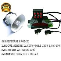 Harga paket modul sirine landun plus mic horn speaker toa zh | Pembandingharga.com