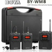 Mic Wireless DSLR Boya WM-8 Pro K2