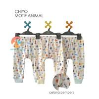 CHIYO 3pcs Celana Panjang Motif Size S,M,L