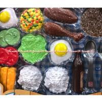 Emco Fun With Food Lil Chez Makan Mantap Mainan Masak Masak AJAE