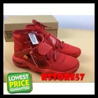 Sepatu Basket - Nike Air Hyperdunk Off White Red - Sepatu Nike New