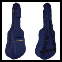 OBRAL Softcase Gitar Sarung Gitar Tas Gitar Akustik Jumbo - Navy PROMO
