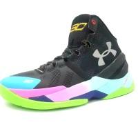 Sepatu Basket - Under Armour Curry 2.0 Original Black Rainbow