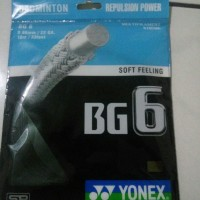 Senar Badminton String Yonex BG 6 SP Original