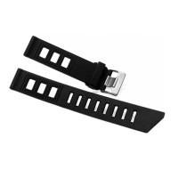 20mm 22mm Iso-Frane Rubber Style Strap Tali Jam tangan karet