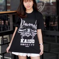 KAOS KAIDO BLACK ANIME ONEPIECE