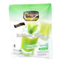 Dessert Factory Panna Cotta Matcha 80g | Dessert Italia rasa Green Tea