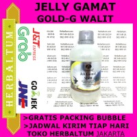 [ ASLI ] Jelly Gamat Gold-G plus Walet isi 320 mL