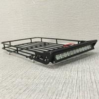 KYX Alloy Luggage Tray and Led Super Terang RC Rock Crawler 1/10