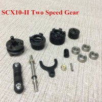 KYX Two Speed Metal gear set for SCX10 II