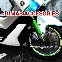 Cover Shock Tabung Motor NMAX ,AEROX