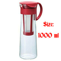 Hario Mizudashi Cold Brew Coffee Pot Red MCPN-14R