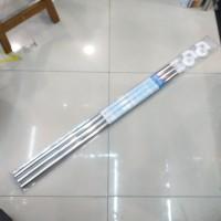 Tiang Shower Curtain U / L / lurus Stainless (Tirai Kamar Mandi)
