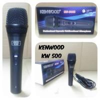 Harga kenwood kw 500b mic kabel microphone dynamic vokal | antitipu.com