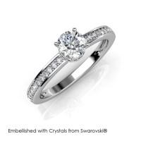 Elise Ring - Cincin Crystals Swarovski® by Her Jewellery