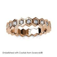 Irene Ring - Cincin Crystals Swarovski® by Her Jewellery