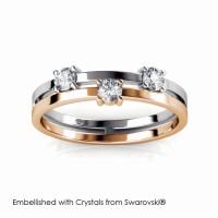 Bonding Ring - Cincin Crystals Swarovski® by Her Jewellery