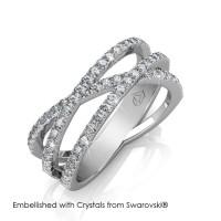 Kristine Ring - Cincin Crystals Swarovski® by Her Jewellery