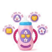 Mainan Feeding Bottle Botol Minum Musik Lampu Edukasi Anak - AHM145